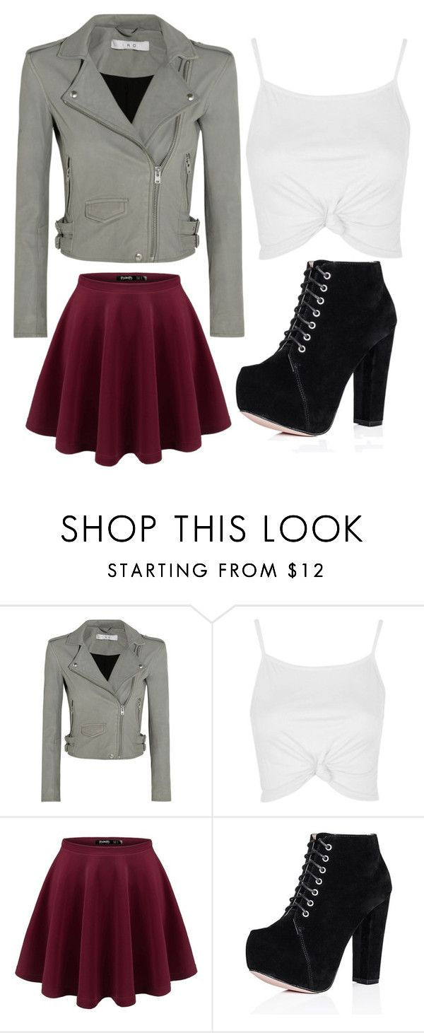 """Untitled #456"" by zeniboo ❤ liked on Polyvore featuring IRO and Topshop"