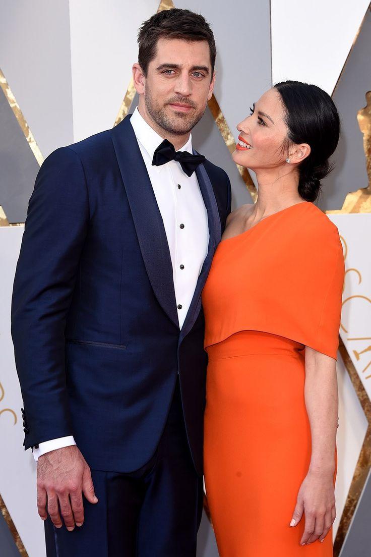 Aaron Rodgers and Olivia Munn | Best Oscar Couples