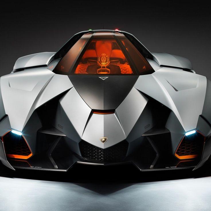 Lamborghini Egoista Red: Lamborghini Concept, Lamborghini
