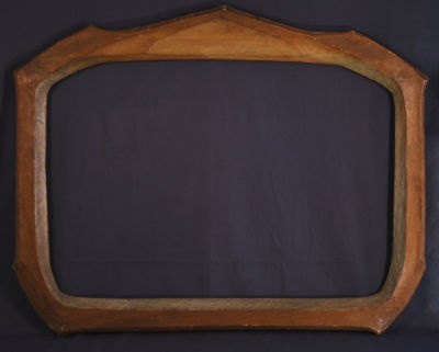 Large Carved Picture Frame Designed by RUDOLF STEINER