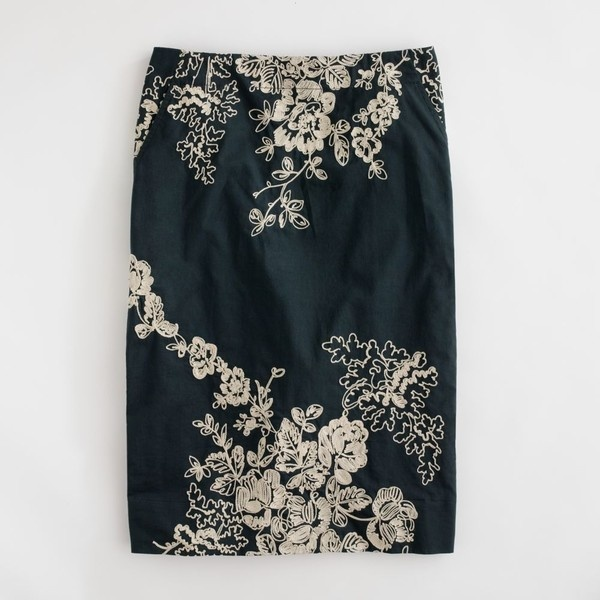 Factory embroidered pencil skirt in cotton found on Polyvore: Jcrew Factories, Factories Skirts, Embroidered Pencil, Prints Skirtjcrew, J Crew Factories, Prints Skirts J Crew, Summer Skirts, Pencil Skirts, Factories Embroidered
