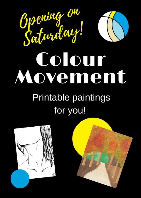 Hey guys! I'll start my own business on Etsy, called the ColourMovement. I'm so excited, hope you will enjoy having my paintings too! :)