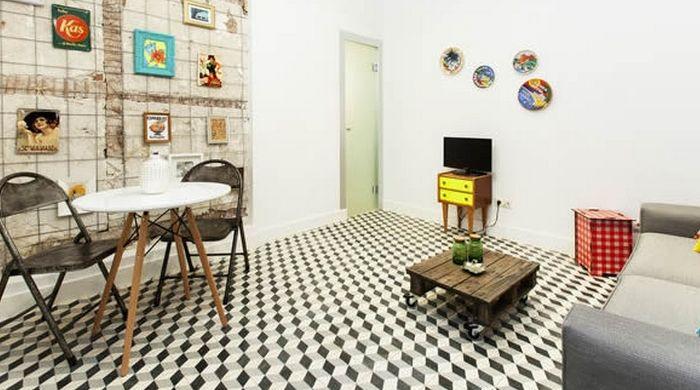 Mejores 15 im genes de pisos vintage en pinterest cocina for Decoracion piso vintage