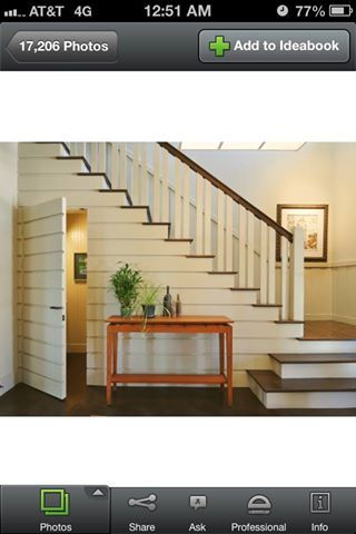 possibly change our house plan to have a half bath under the stairs for guests. Don't need lots of room for just a toilet and sink