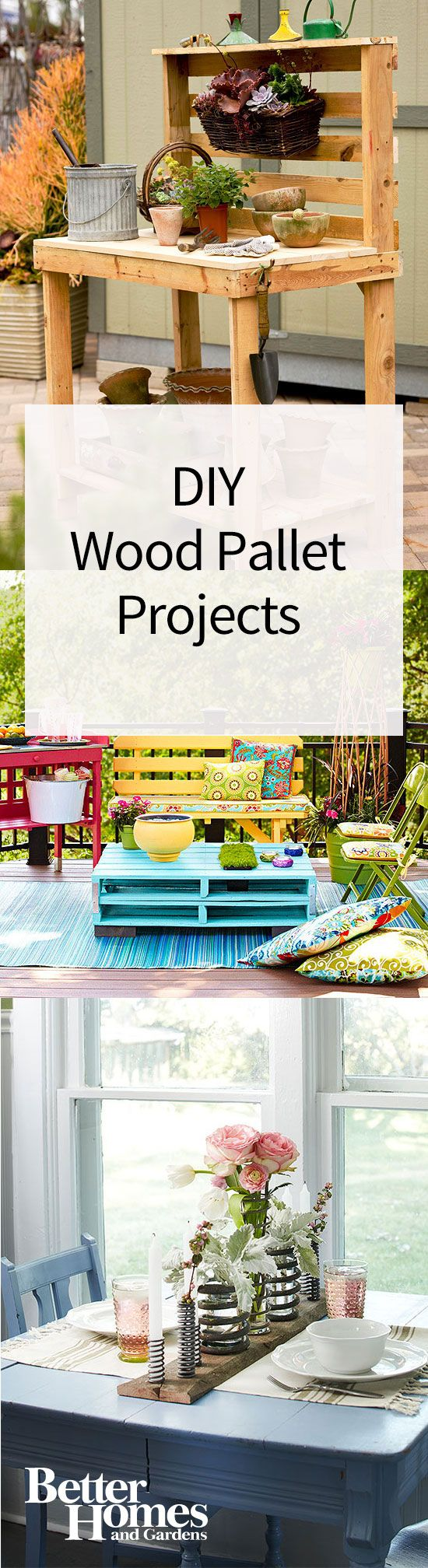 349 best DIY Pallets Upcycle Ideas images on Pinterest Pallet