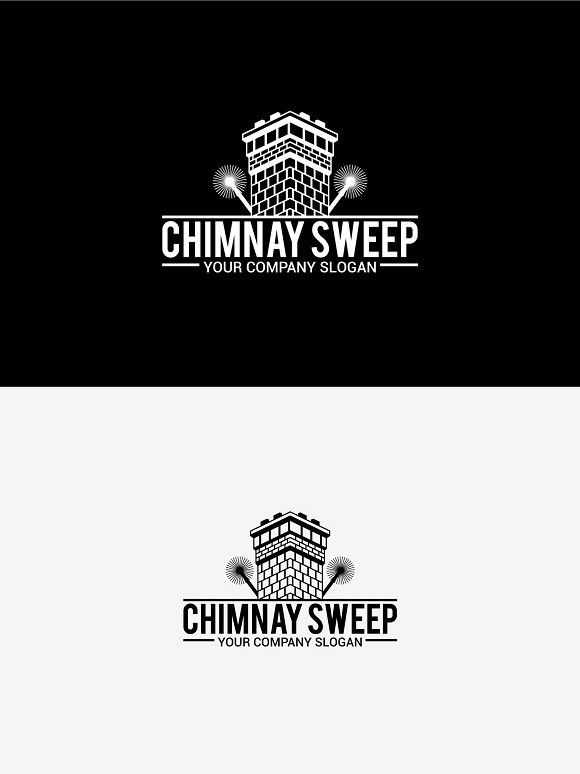 Chimney Sweep Logo Templates Chimney Sweep Modern Logo