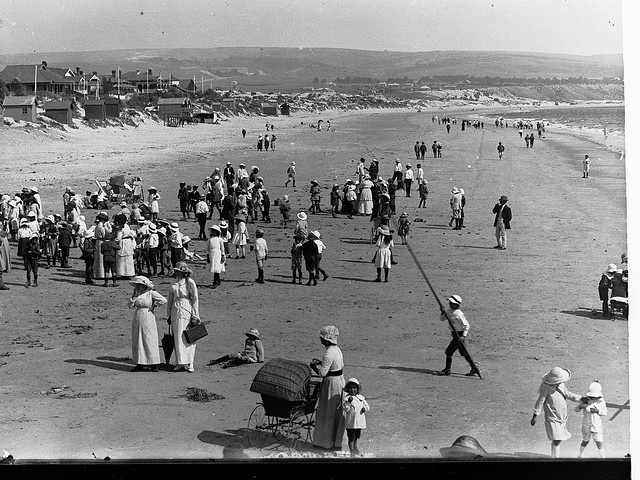 Brighton Beach, SA, early 19th century