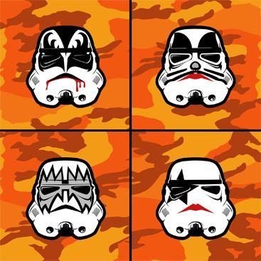 KISS Stormtroopers.