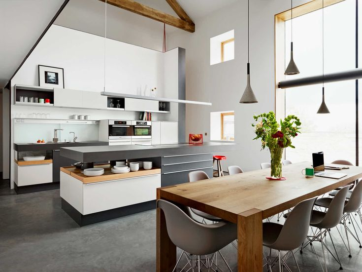 118 best images about poggenpohl inspiration on pinterest for Modern barn kitchen