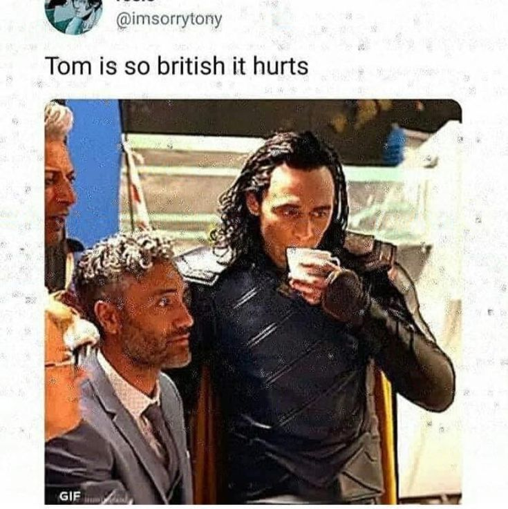 Vermutlich haben sie High Tea in Asgard? – #Asgard…
