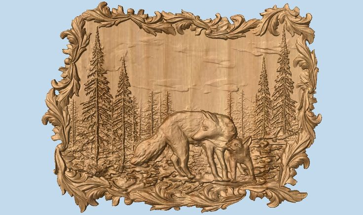 Wolves Wall Decor Wolf Wood Carving Wolf Hunting Wall