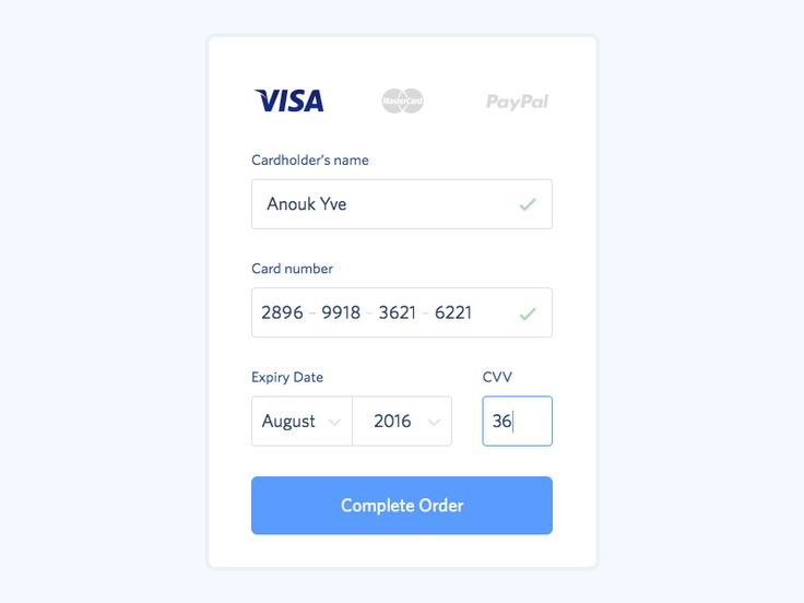 004 –– Credit Card Payment by Martin Rariga