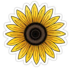 Sunflower Stickers Google Search Aesthetic Stickers