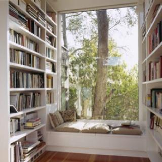 Cozy reading knook