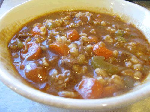Recipe: Beef Barley Stew Crockpot and Freezer Friendly - Dinner