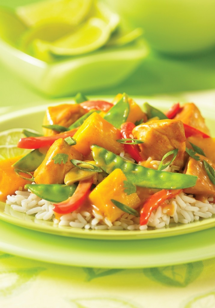Thai Chicken and Mango Stir-Fry from Bravo!
