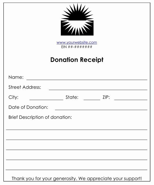 Luxury 501c3 Donation Receipt Non Profit Donations Receipt Template Donation Letter Template In 2021 Non Profit Donations Receipt Template Donation Letter Template