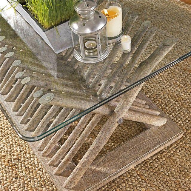 Stanley Furniture Coastal Living Resort Driftwood Flats Cocktail Table