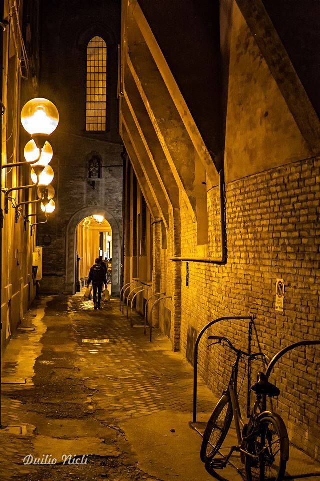 Bologna, Il vicolo che collega Via Oberdan con la Galleria Acquaderni, foto di Duilio Nicli