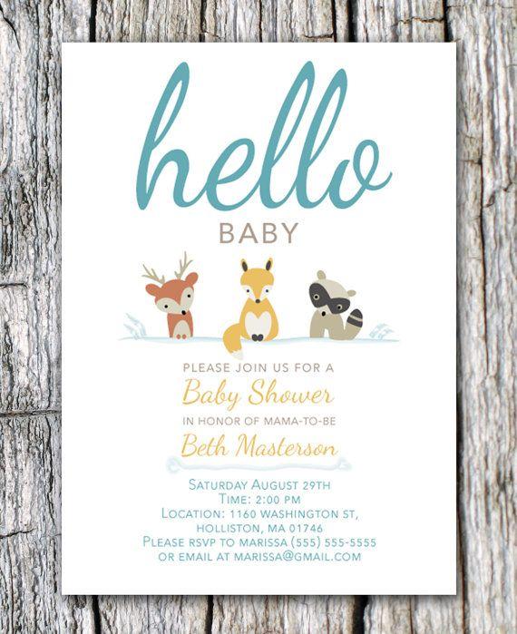 baby woodland woodland shower woodland animal theme baby shower