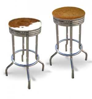 17 Best Images About Cowhide Barstool On Pinterest