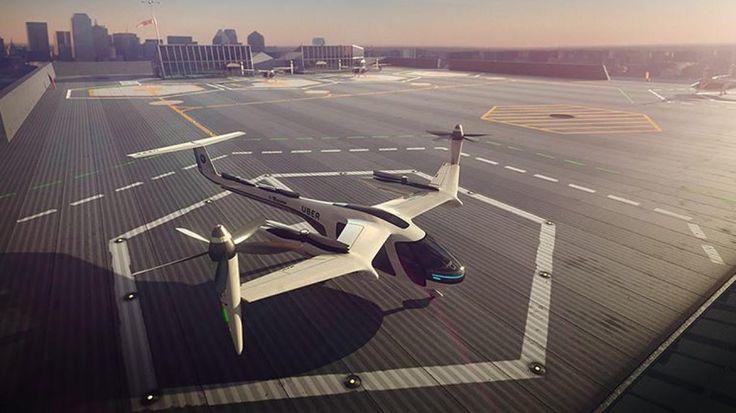 Uber se asocia con la NASA para tener taxis voladores - Expansión MX