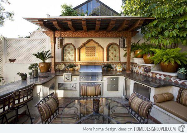 Backyard Kitchen Ideas