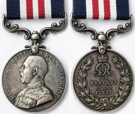 My godfather Colin Greener received the Military Medal in World War One for bravery. He fought throughout the war in the Royal Canadian Dragoons, and was wounded twice.