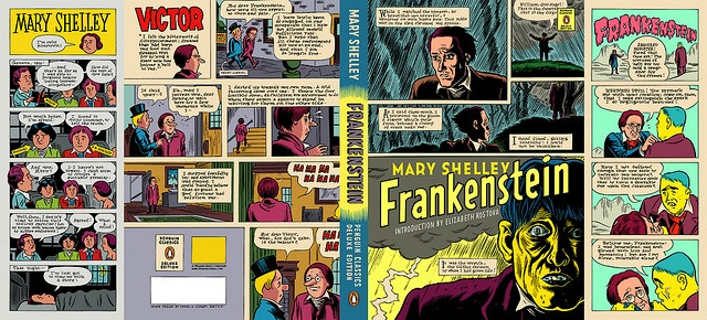 Frankenstein Cover By Daniel Clowes