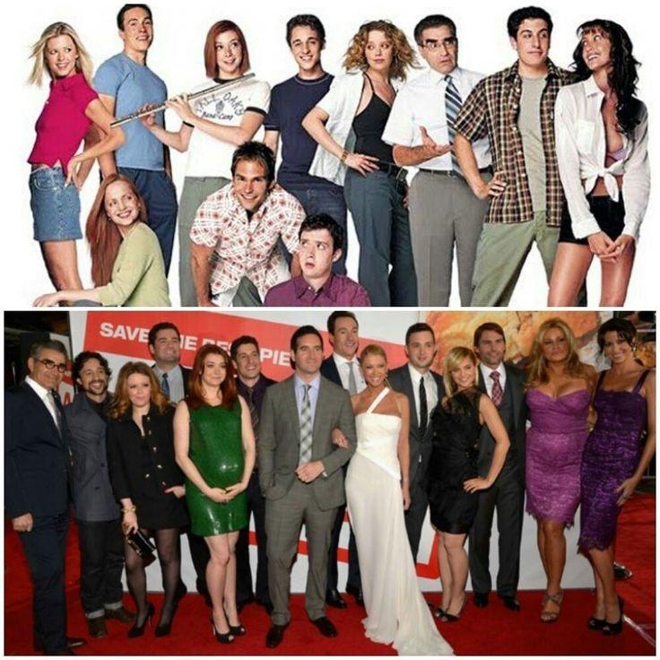 American Pie cast 1999, 2012