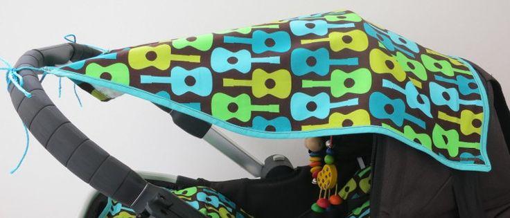 Kinderwagen Bezug und Sonnensegel