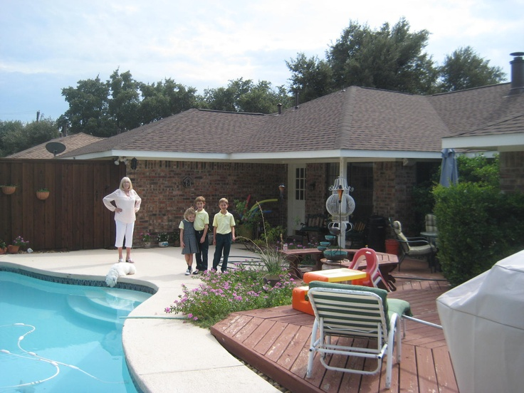 14 best gaf timberline american harvest images on for Pool building companies