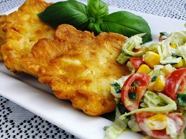 z cukrem pudrem: filety z kurczaka w majonezowej panierce