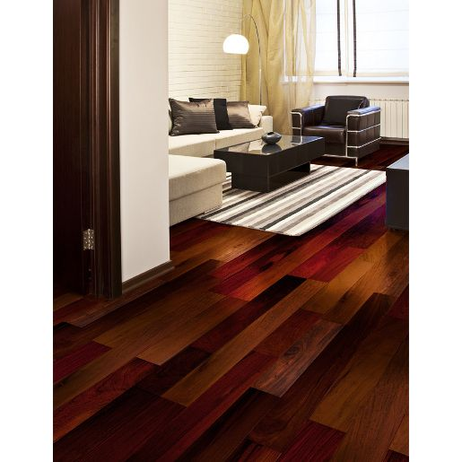 Prefinished Hardwood Flooring Cleaning: Brazilian Walnut Natural 9/16 X 5 X 1-4' Select And