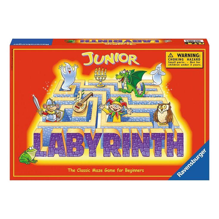 Ravensburger Junior Labyrinth Game, Multicolor