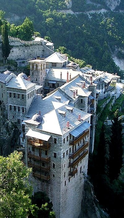 Mount Athos, Halkidiki, Greece