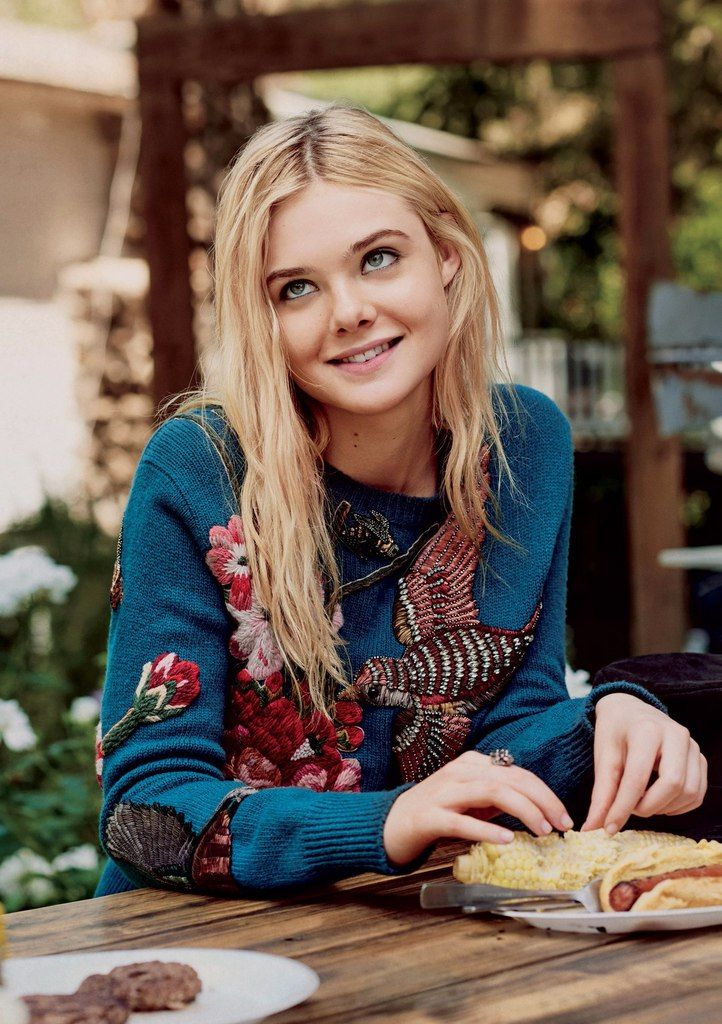Elle Fanning by Christian MacDonald for Teen Vogue, Oct 2015
