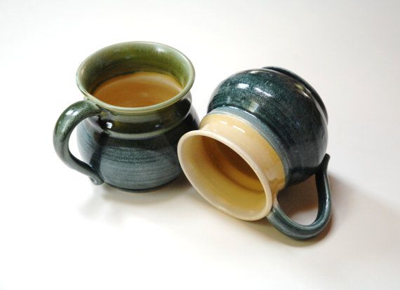 His and her mugsMr. and Mrs. cupsmale female by Emburr on Etsy