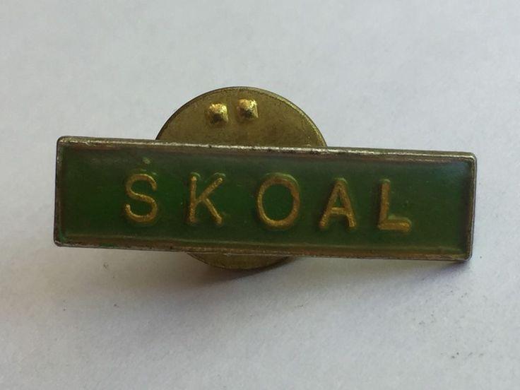 Vintage Skoal Chewing Tobacco Advertising Hat or Lapel Pin  | eBay