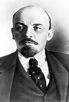 Vladimir Ilyich Lenin was a Russian Marxist revolutionary, intellectual and politician who led the October Revolution of 1917