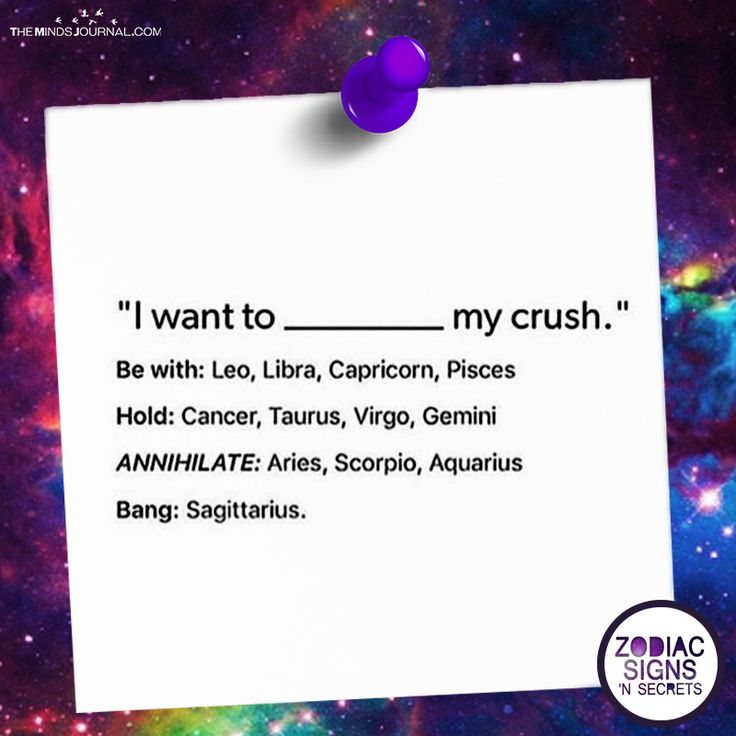 What The Signs Want To Do With Their Crush - https://themindsjournal.com/signs-want-crush/