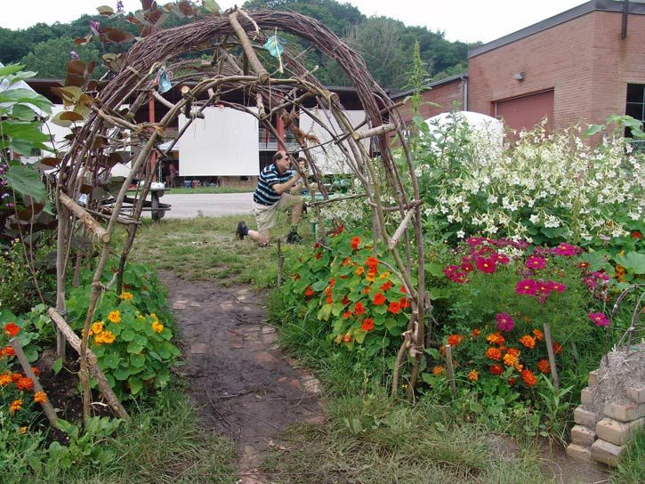 18 best Unique garden ideas images on Pinterest   Decks, Backyard ...