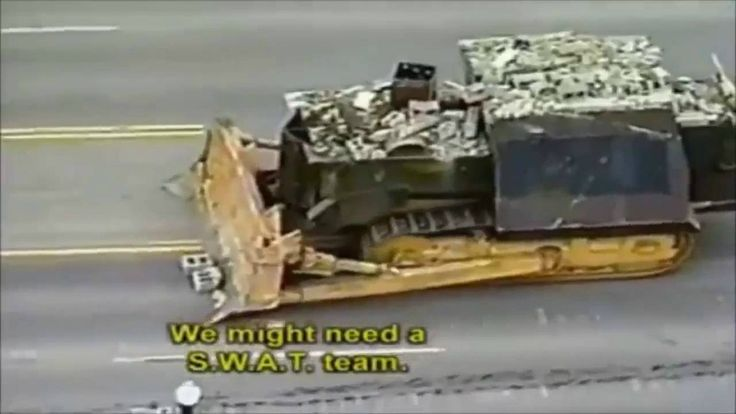 "Meet Marvin John Heemeyer from Colorado and his armored bulldozer known as ""Killdozer"".  So back in 2009 a Colorado man named Marvin John Heemeyer had a big zoning dispute. So he built ""Killdozer"".         Marvin John Heemeyer (October 28, 1951 --"