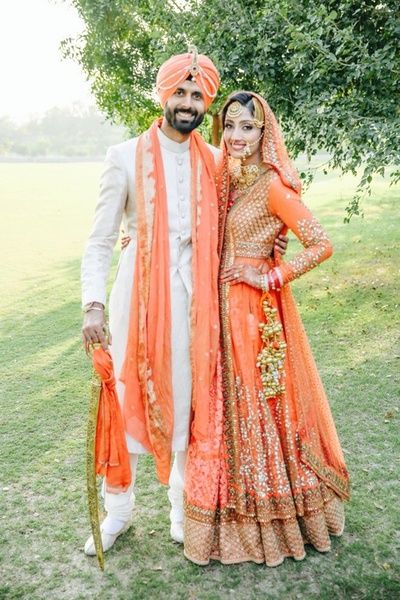 Sikh Wedding Brides - The perfect couple! WedMeGood