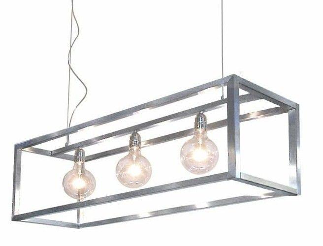 RVS Hanglamp 3-L Rimini Ztahl