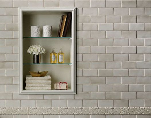 Melange By Grazia Crackle Finish Subway Wall Tile Http Www Tile Brick Bathroombathroom