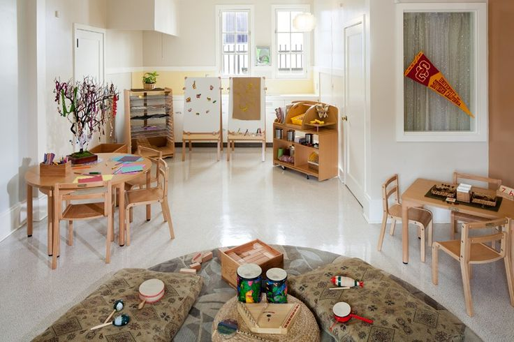 Classroom Design Early Childhood : Usc children center arts crafts area by kohburg early