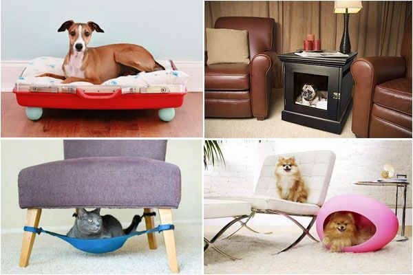 Удобная мебель для домашних животных.