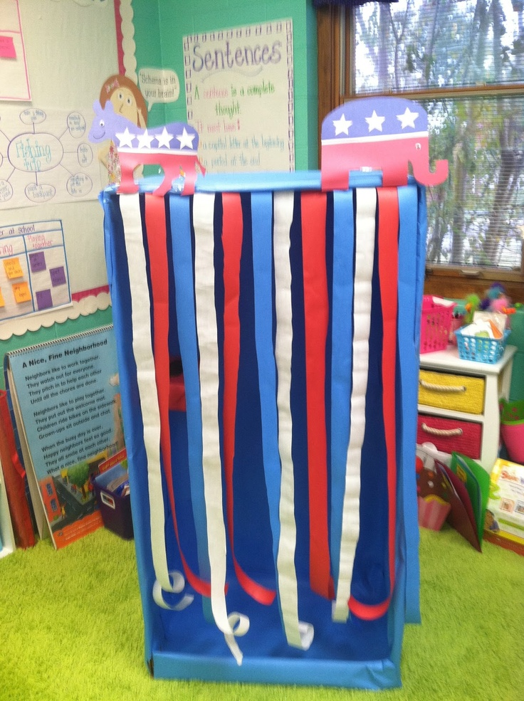 Classroom Voting Ideas ~ Best ideas about voting booth on pinterest teaching
