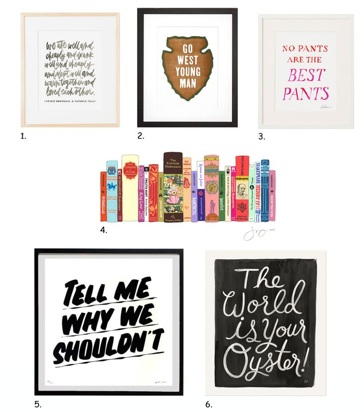 gift guide words to live by